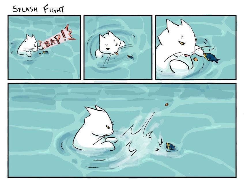 fishie splaaaaaash!