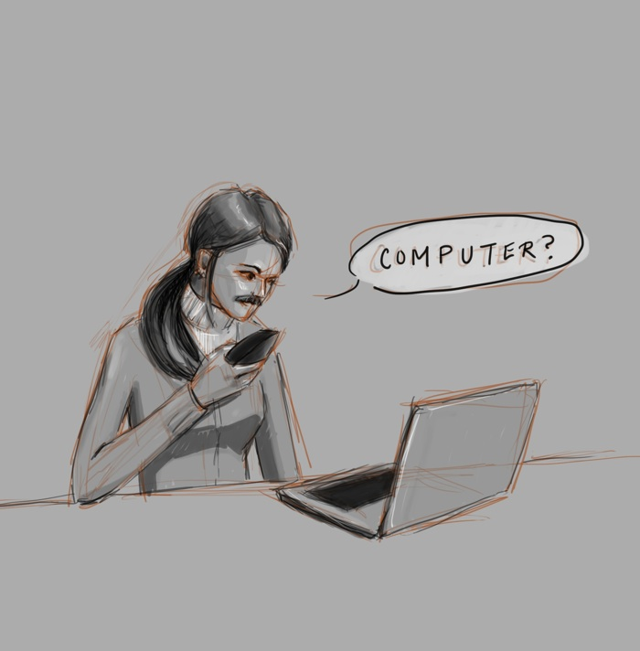 Hello, computer